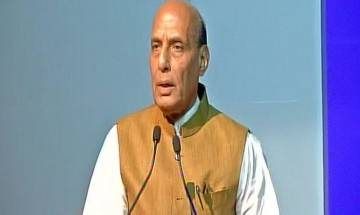 Rohingyas not refugees because they did  not follow due process: Rajnath Singh