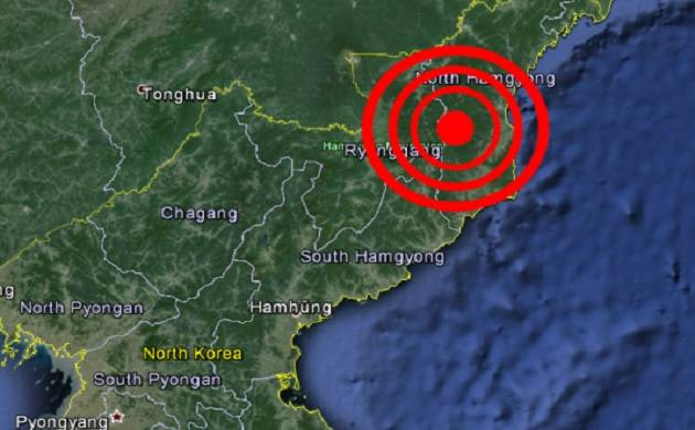 Another nuclear test? North Korea earthquake a 'susected explosion', says China