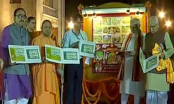 PM Modi visits Tulsi Manas Mandir in Varanasi, releases postage stamp on Lord Ram