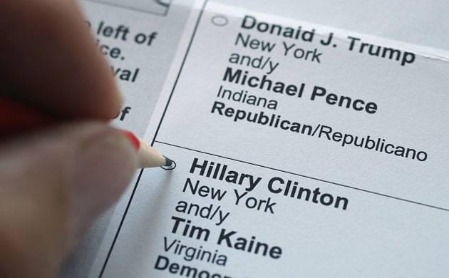 US presidential polls