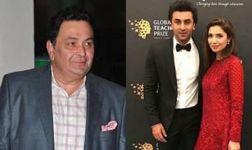 This is what Rishi Kapoor has to say about Ranbir-Mahira's rumored love affair