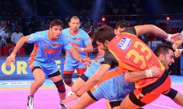 Pro-Kabaddi League: Bengal Warriors defeat Bengaluru Bulls 33-29 in thrilling encounter