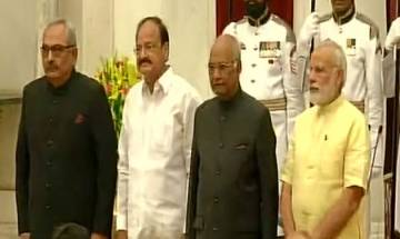 Rajiv Mehrishi takes oath as Comptroller and Auditor General in presence of PM Modi, President Kovind