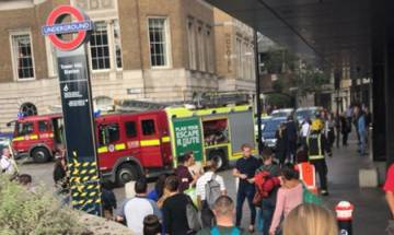 Explosion at London Tower Hill station triggers panic among passengers