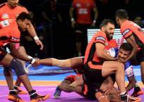 Pro Kabaddi League, Season 5: U Mumba defeat Bengaluru Bulls 42-30 in easy encounter