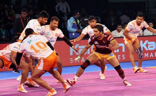 Pro Kabaddi League Season 5: Puneri Paltan defeat UP Yoddha 34-33