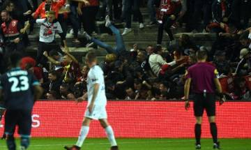 29 injured after barriers collapse in French football stadium