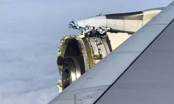 Los Angeles bound Air France A380 superjumbo makes emergency landing with damaged engine, see videos