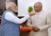 PM Modi wishes President Ram Nath Kovind on his 72nd birthday, calls him simple & compassionate