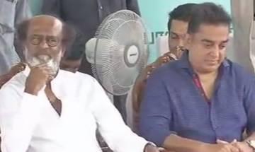 Rajinikanth, Kamal Haasan, O Pannerselvam interact in Chennai ámid speculations of both superstars' entry in politics