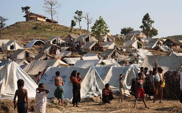 Rohingya refugees in Bangladesh camps (File Photo)
