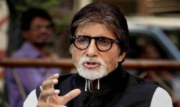 Amitabh Bachchan asks people to click selfies with caution