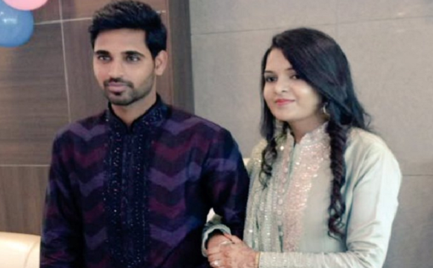 Bhuvneshwar Kumar gets engaged to Nupur Nagar in a private ceremony (Bhuvi Twitter)