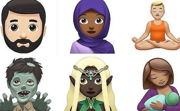 Apple unveils new emoji with iOS 11.1 update (Source: Apple)