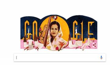 Begum Akhtar's 103rd birth anniversary: See how Google doodle pays tribute to Mallika-e-Ghazal
