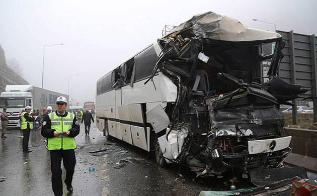 Three German tourists dead after bus overturns in Antalya, Turkey