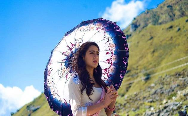 Revealed! First look of Sara Ali Khan in his debut movie 'Kedarnath', See pics (Instagram)