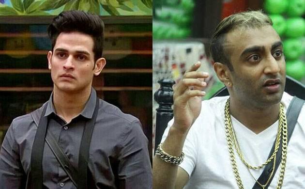 Watch | Bigg Boss 11: Priyank Sharma MANHANDLES Akash Dadlani; gets eliminated