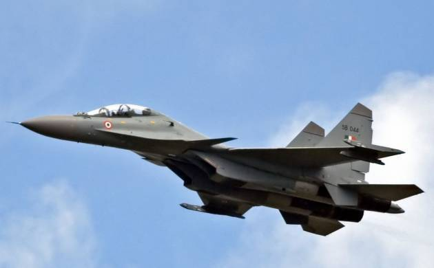 Indian Air Force Fighter Jet - File Photo