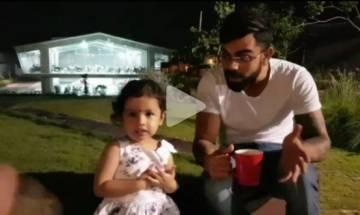Video: When Virat Kohli strikes up instant camaraderie with Ziva, Sparks plenty of meeww moments