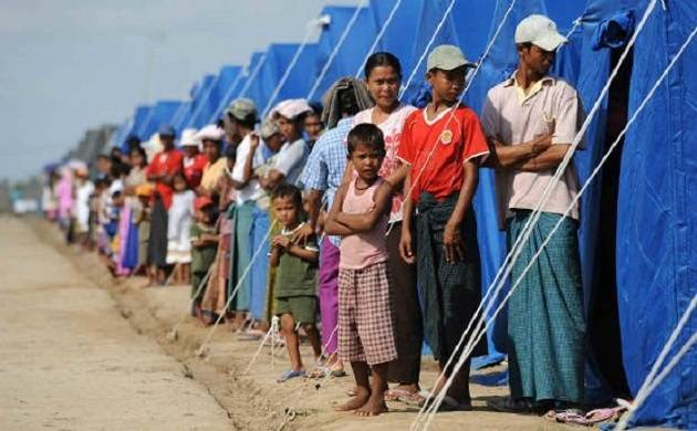 Rohingya Muslims have poured in huge numbers into Bangladesh (Image source: PTI)