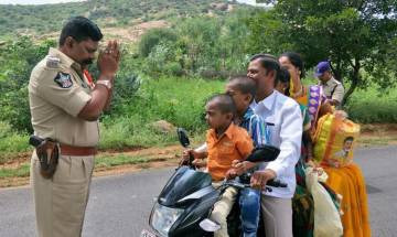 My mind went blank: Andhra Pradesh cop pleads with repeat offenders, photo goes viral