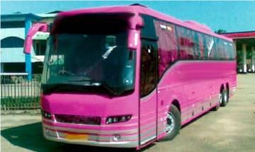 Uttar Pradesh govt to start 'Pink Bus' service exclusively for women