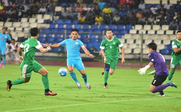 India beat Macau 4-1, qualify for 2019 AFC Asian Cup (Source: Indian Football Team's Twitter)