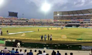 India vs Australia, 3rd T20: Match called off due to sodden outfield, series end at 1-1 draw