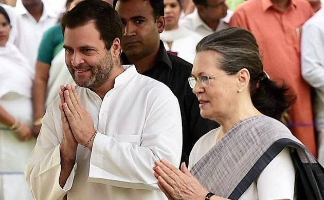 Sonia says Rahul will soon be elevated to post of Congress president (Image: PTI)
