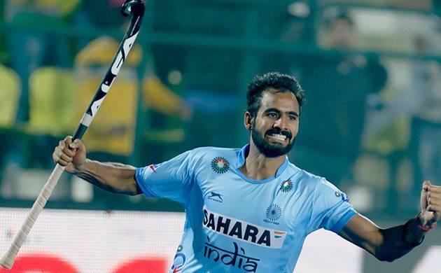 India vs Korea Asia Cup Hockey - Gurjant Singh (Image credit - Hockey India Twitter account)