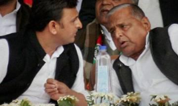 Mulayam, Akhilesh and Shivpal together in Saifai on Diwali