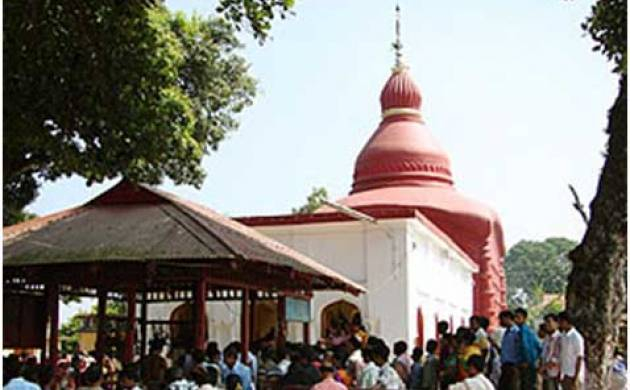 Thousands of devotees throng the 16th century Tripura Sundari temple