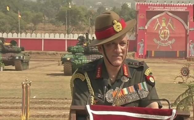 Army Chief General Bipin Rawat - Source (ANI)