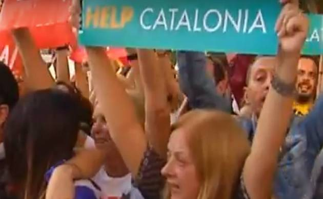 Catalonia's separatist president Carles Puigdemont (Image source: You Tube)