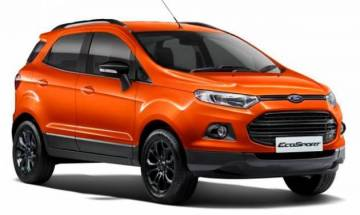 Ford EcoSport facelift interior details spied, to be launched on November 9