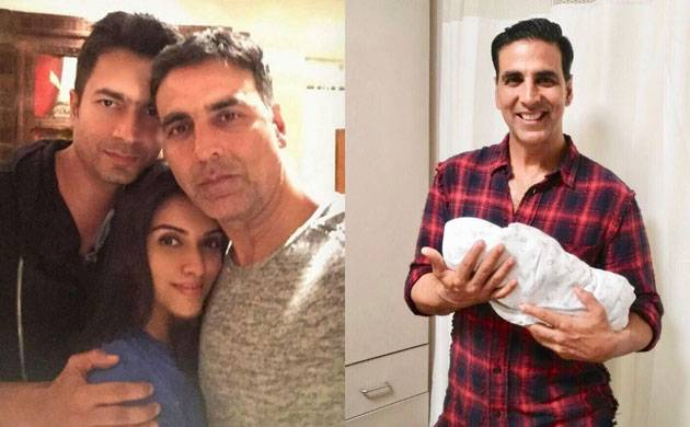 Asin's best man Akshay Kumar shares first glimpse of her 'little angel' (see pic)