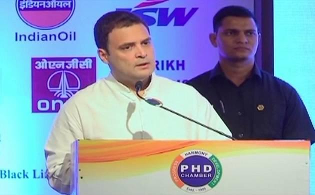 Start-Up India can't accompany Shut Up India, says Rahul Gandhi