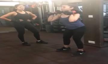 Tiger Zinda Hai actress Katrina Kaif becomes Alia Bhatt's super strict fitness coach (watch video)