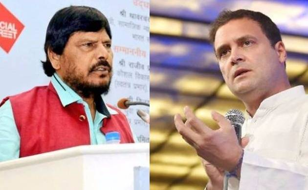 Union Minister Ramdas Athawale suggests Rahul Gandhi to marry Dalit.