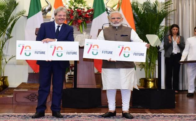 India, Italy sign six pacts during Italian PM Paolo Gentiloni's state visit
