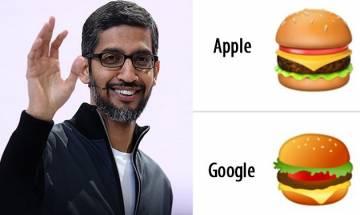 'Cheesy' brainstorming over apt order of cheese in burger, Google CEO Sundar Pichai promises to fix cheeseburger emoji