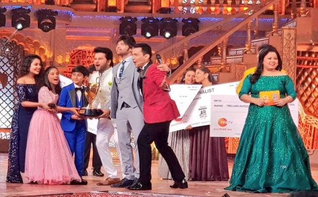 'Sa Re Ga Ma Pa Lil Champs' announced Shreyan and Abnail as winners
