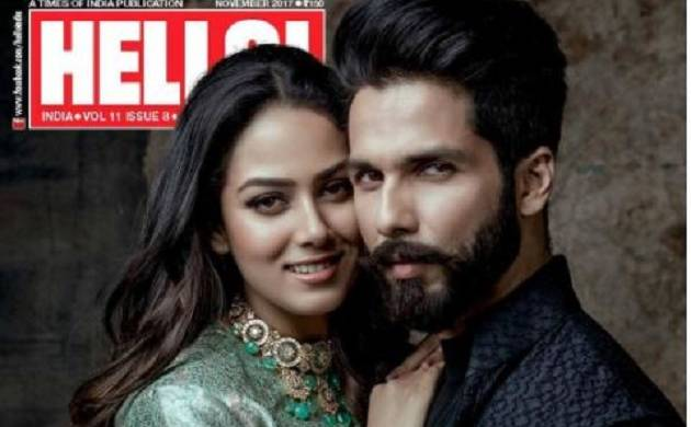 Shahid Kapoor, Mira Rajput strike poses for their first ever photo shoot (see pics)