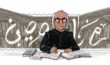Google Doodle pays tribute to noted Urdu author Abdul Qavi Desnavi on 87th birth anniversary