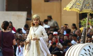 Viral: Kangana Ranaut is indeed looking like Rani Laxmibai from the sets of Manikarnika
