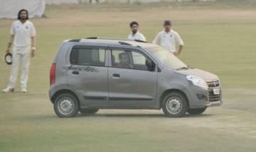 Delhi-UP Ranji trophy match interrupted as man drives car at Palam Air Force Ground