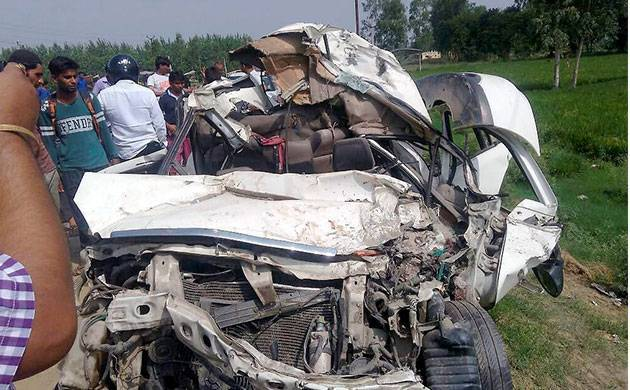 UP: Six killed in road accident on Lucknow-Agra Expressway (Representational Image)