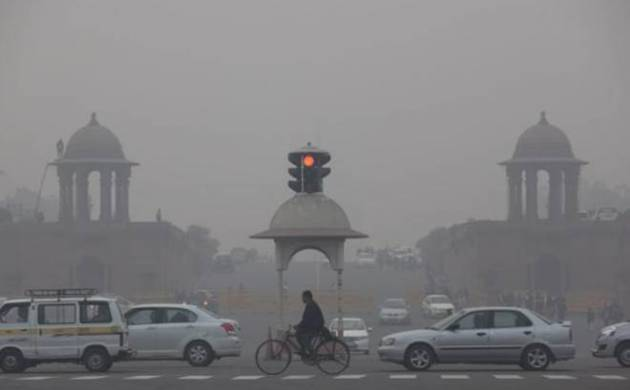 Delhi woke up to 'severe' air quality on Tuesday with a thick haze blanketing the city as pollution levels breached permissible standards by multiple times