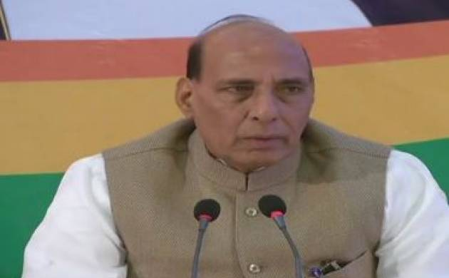 Rajnath Singh slams Congress for defaming govt on economic front ( Photo: Twitter)